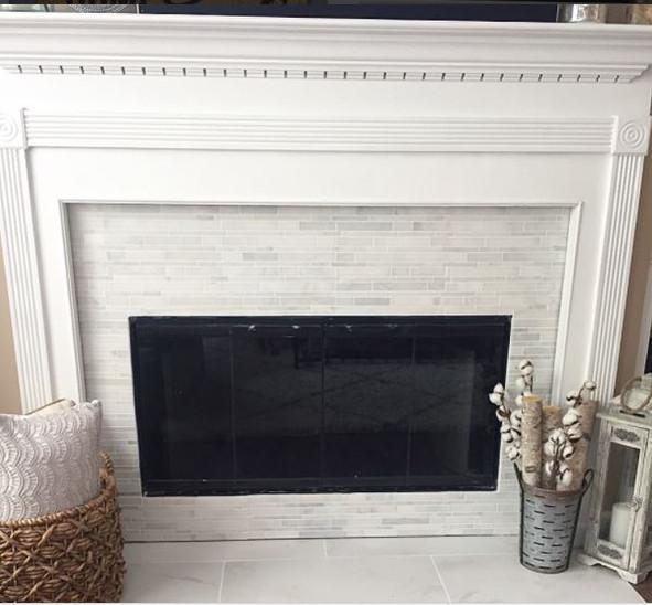 DIY Fireplace Transformation