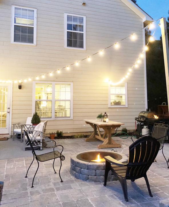 Outdoor Patio Lighting (DIY)