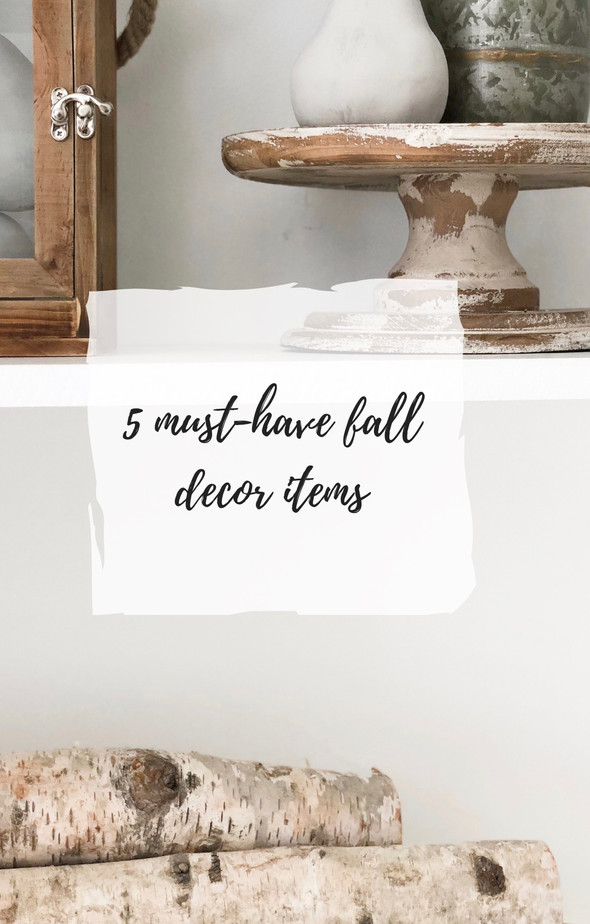5 must have fall decor items (other than pumpkins)
