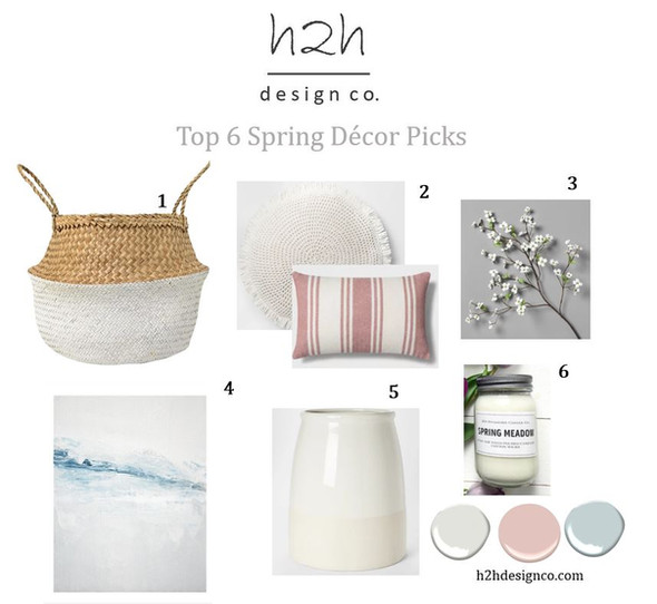 Update your home for the spring with these decor picks