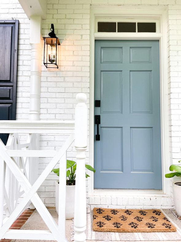 Front porch styling for spring/summer