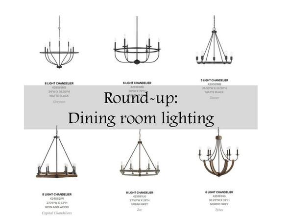 Choosing the right dining room light fixture
