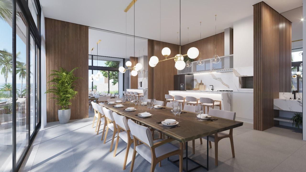 Villa Santorini - Área Gourmet
