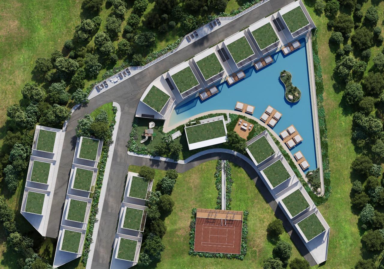 Villa Santorini - Vista Aérea