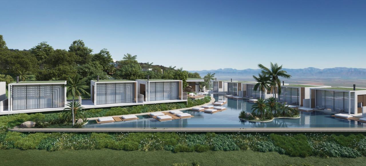 Villa Santorini - Vista piscina