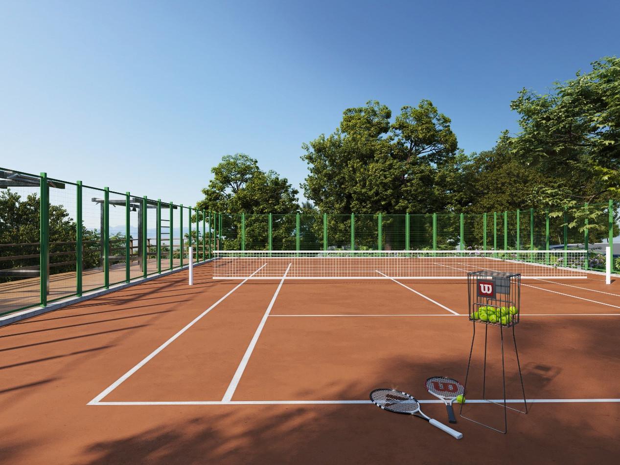 Villa Santorini - Quadra de Tênis