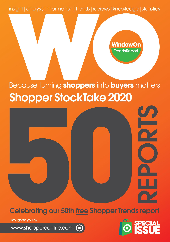 WindowOn Shopper StockTake 2020   Shoppercentric