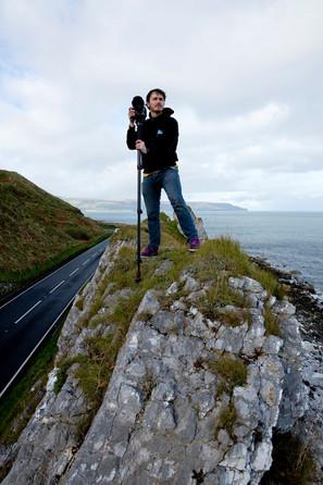 Cycle shoot Antrim Coast