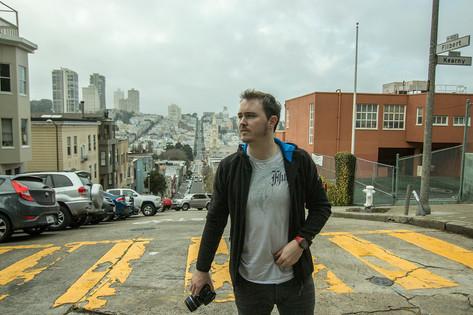 Street shots in San Fran