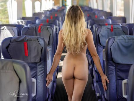Nude in the Train