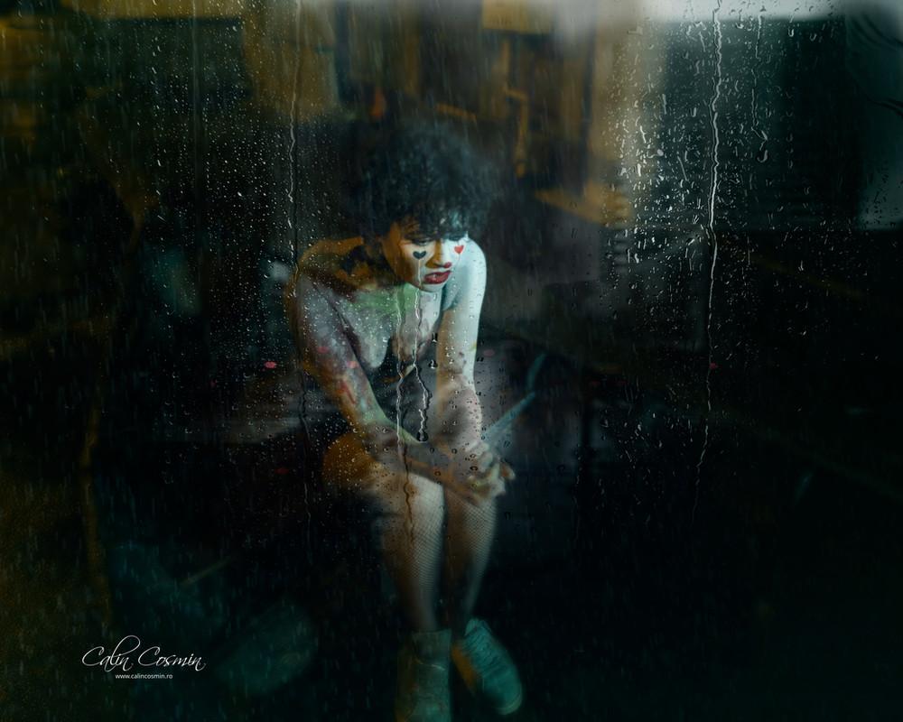 Raining tears in a boat