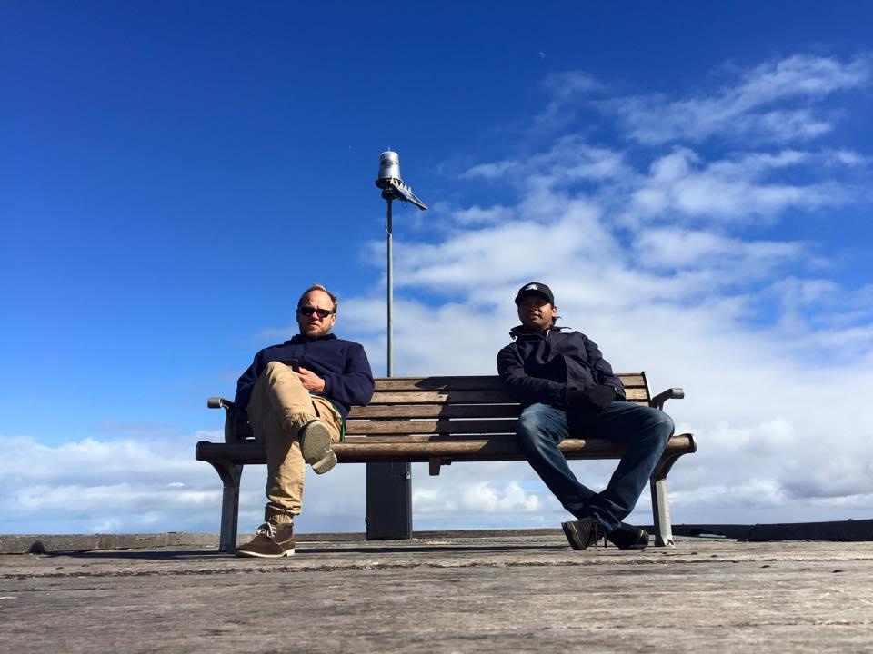 me and brother Tom Ceduna SA