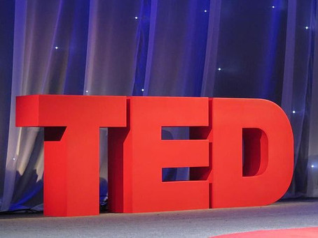 """TED Talk: """"Get comfortable with being uncomfortable"""""""