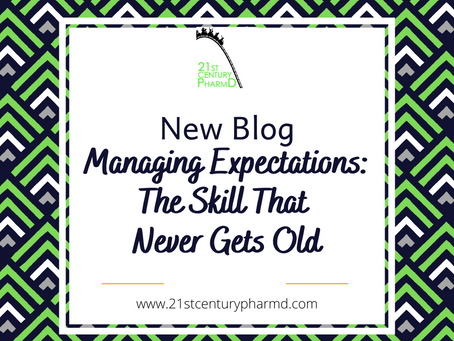 Managing Expectations: The Skill That Never Gets Old