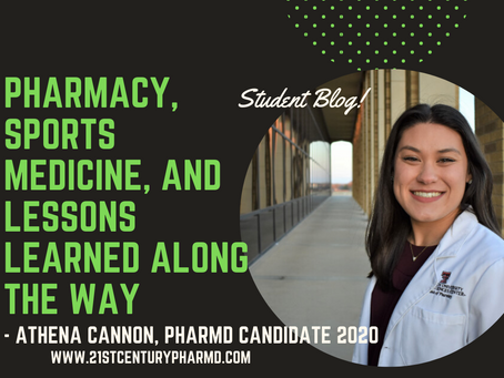 Pharmacy, Sports Medicine, and Lessons Learned Along the Way