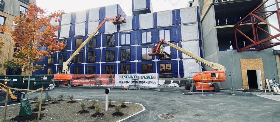 Vi bygger hotell på rekordtid!