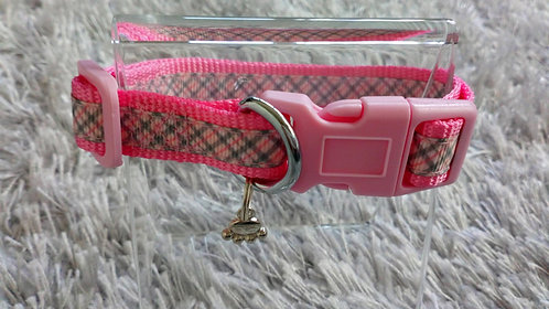 PINK COLLAR AND LEAD