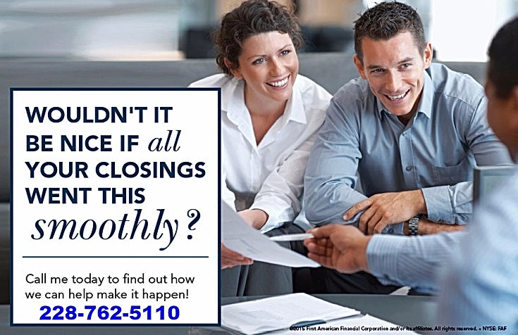 Closing with buyers and attorney