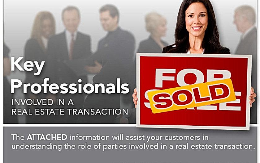 Realtors, Lenders and Attorneys