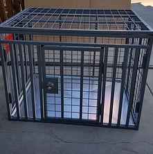 xtreme dog crates - custom crate side do