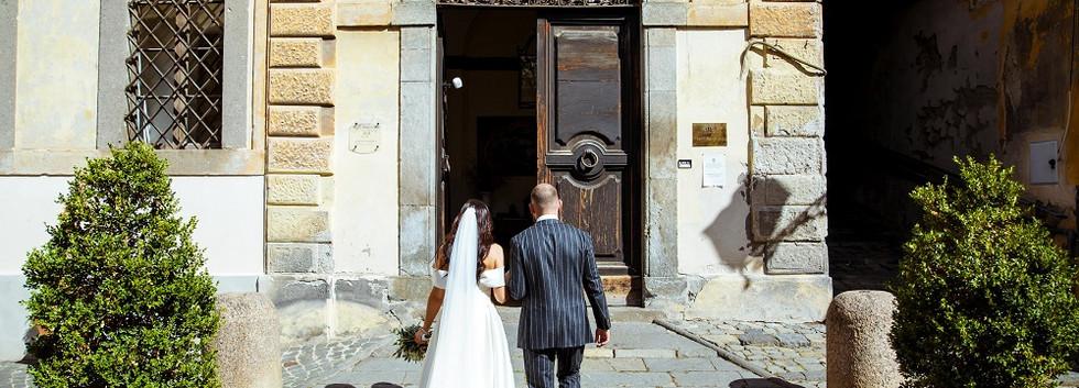 Vestuves prie Bolsenos Ezero Italijoje (