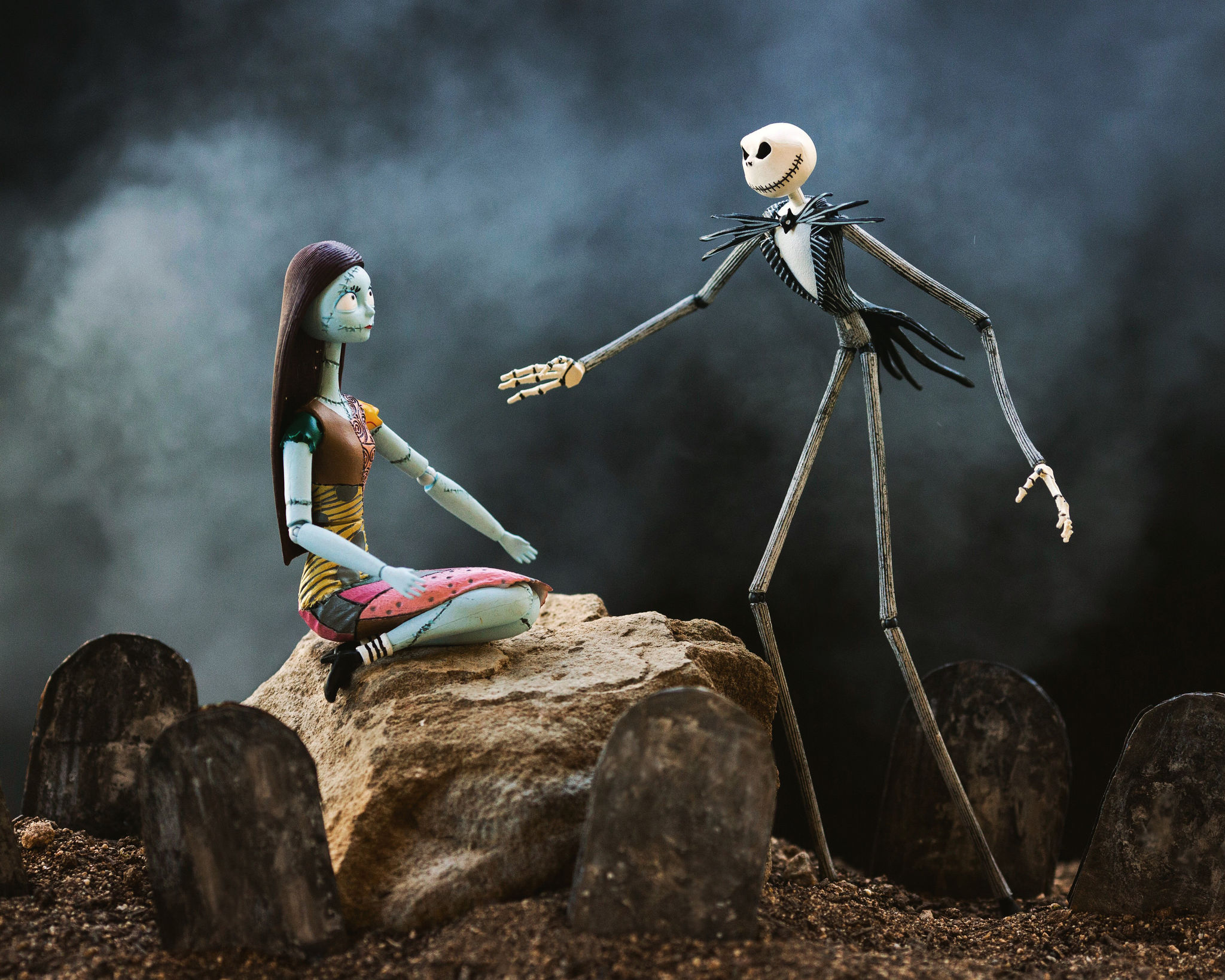 Mitchel Wu Toy Photography Behind the Scenes: Nightmare Before Christmas