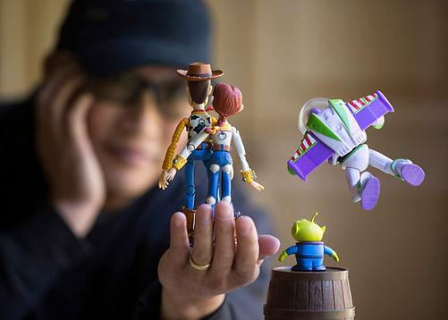Toy Photographer Mitchel Wu