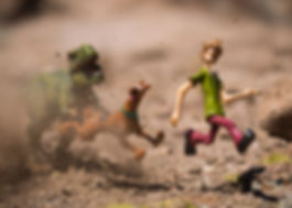 Scooby Doo and Shaggy Toy Photography