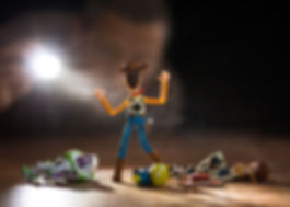 Toy Story toy photography