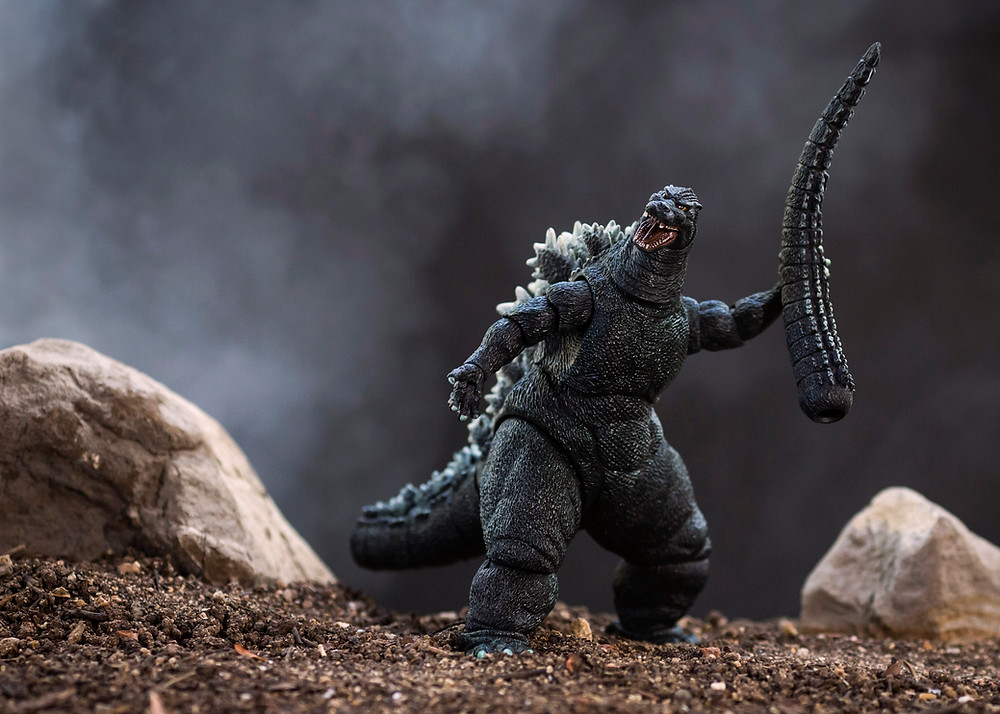 Mitchel Wu Toy Photography Godzilla