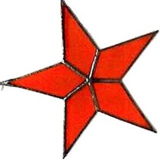 6.5 inch Flat Star