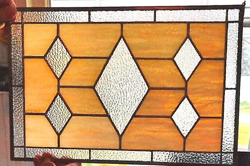 Panel 6 Clear Diamonds