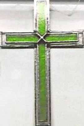 Double Glass Cross
