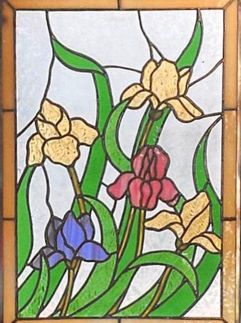 Panel 4 Irises