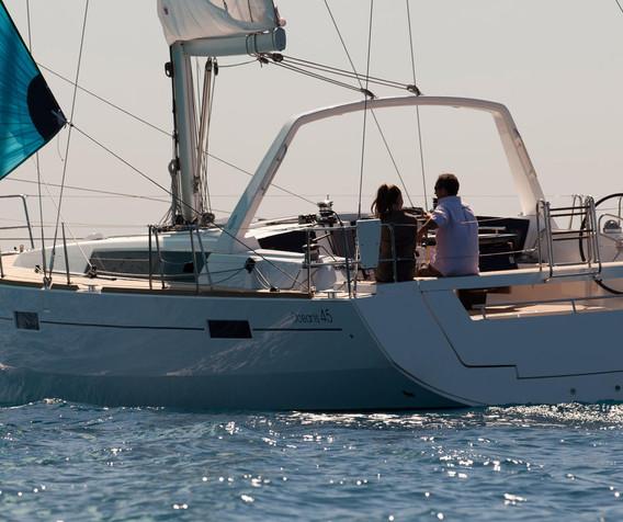 oceanis 45 - Alpamapa 3 - location voile