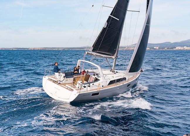 Oceanis 41.1 - Blowing poon - base de hy