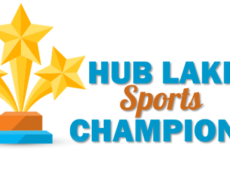 Cheers for Indian Lake! Our HUB Lake Champions!