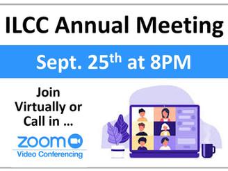 ILCC Annual Meeting Goes Virtual