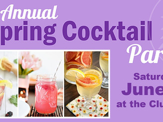2019 Spring Cocktail Party!  Tickets Sell Out FAST!
