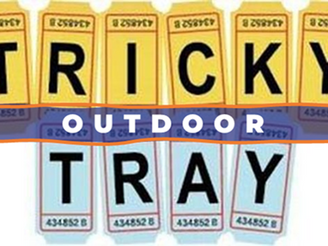 Tricky Tray is OUTDOOR This Year!