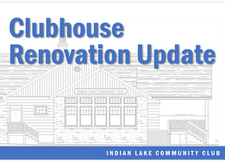 Special Message • ILCC Clubhouse Renovation Update
