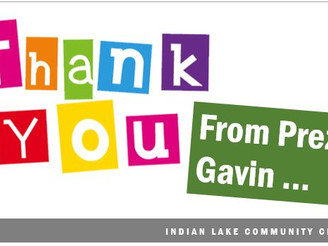 October • A Thank You From Our ILCC President, Mike Gavin