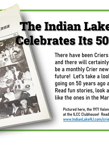 Celebrate 50 years of the Indian Lake Crier!