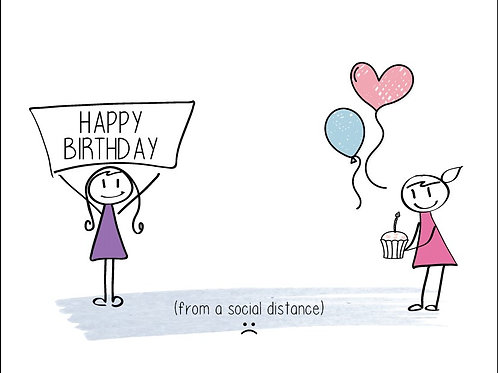 Happy Birthday (social distance)