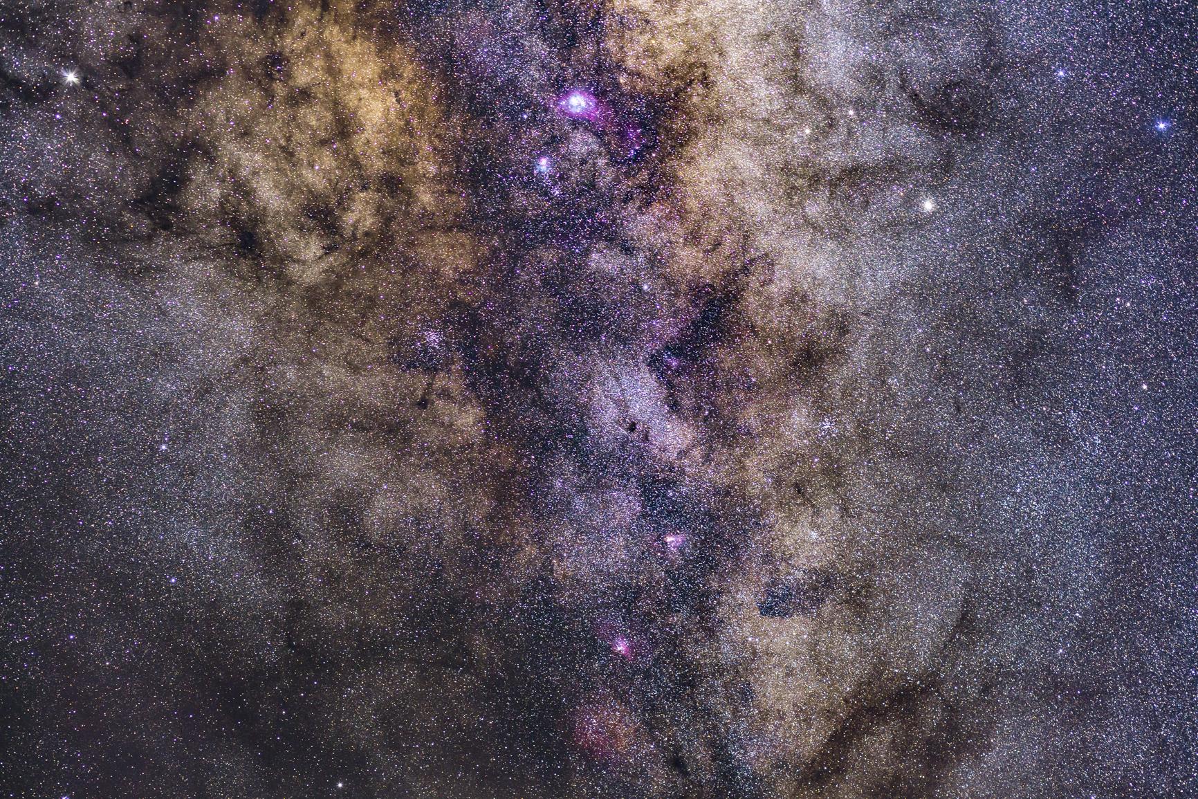 Milky Way Core