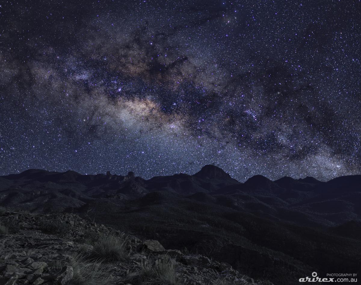 Near Siding Spring Observatory