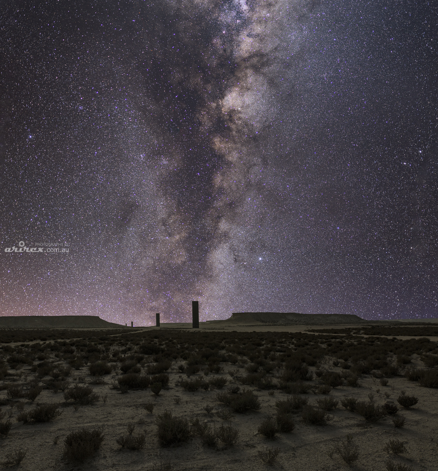 East- West/West-East,  Qatari Desert