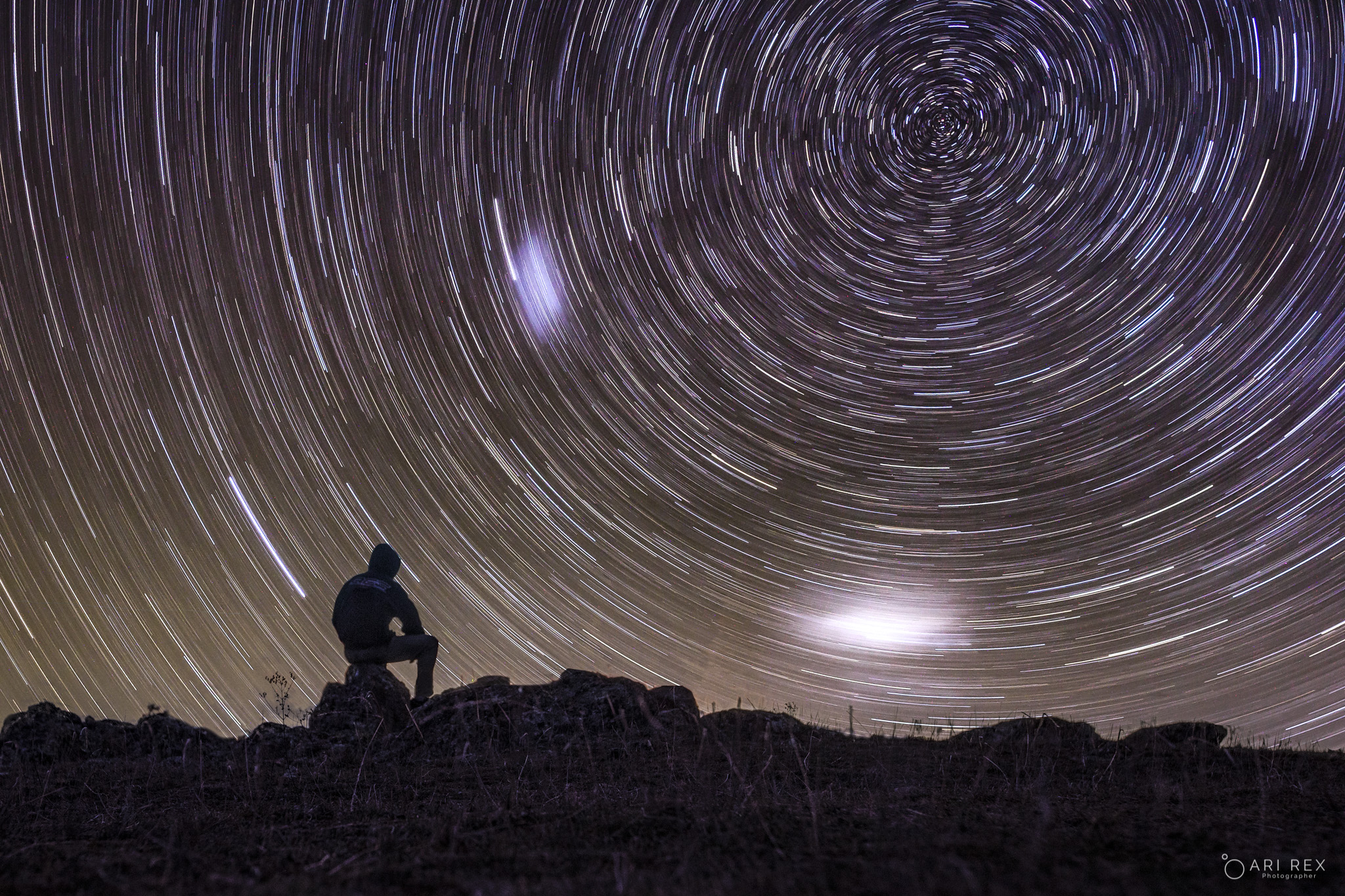 Startrail Thoughts