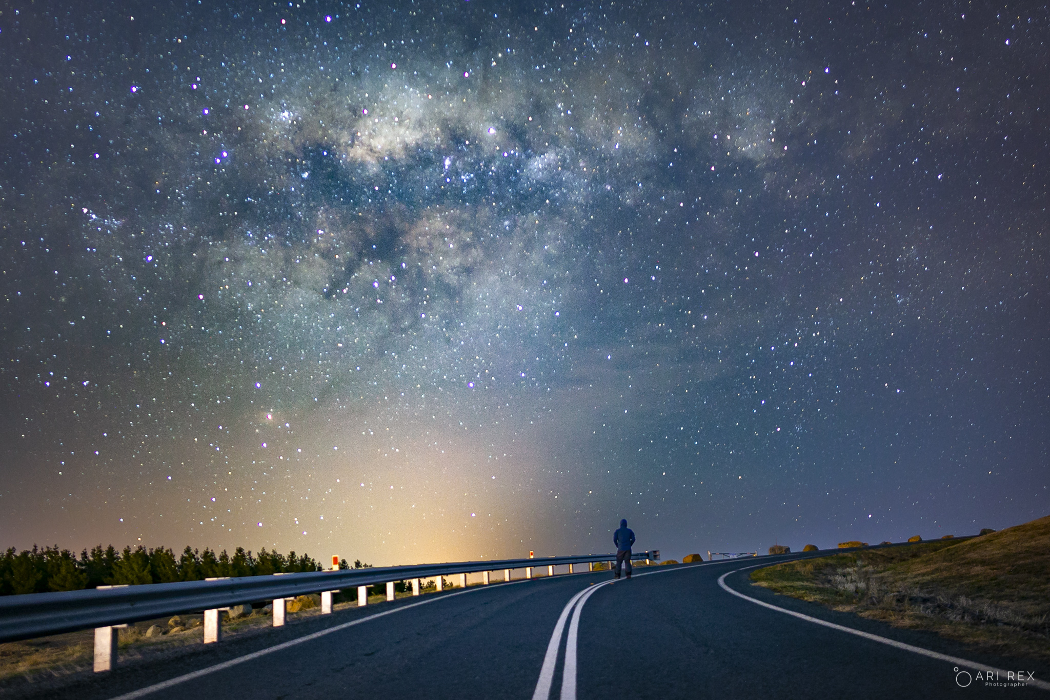 Milky Way in Canberra