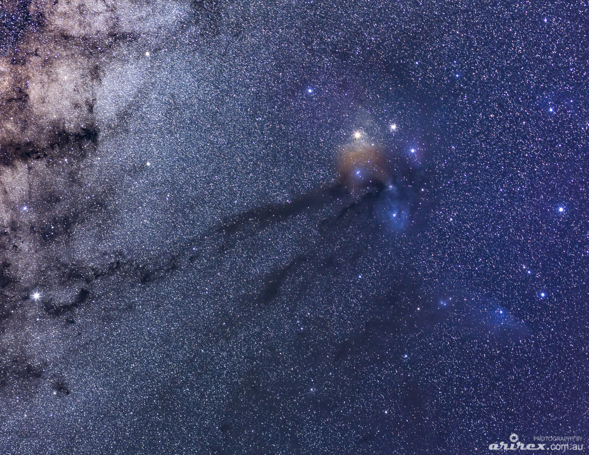 Rho Ophiuchi Constellation